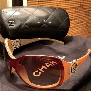 Chanel Camelia Sunglasses